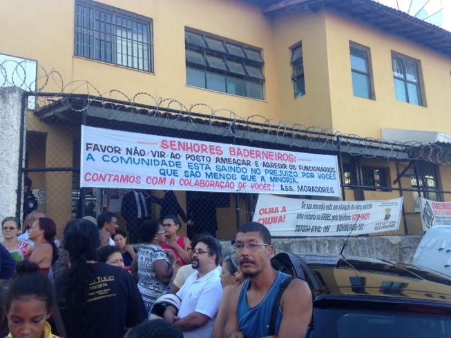 Centro de Saúde Cafezal ficou fechado por três dias. Imagem: Paula Coura/Hoje em Dia